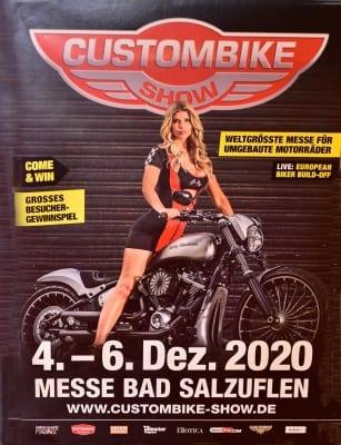Plakat Custombike-Show 2020