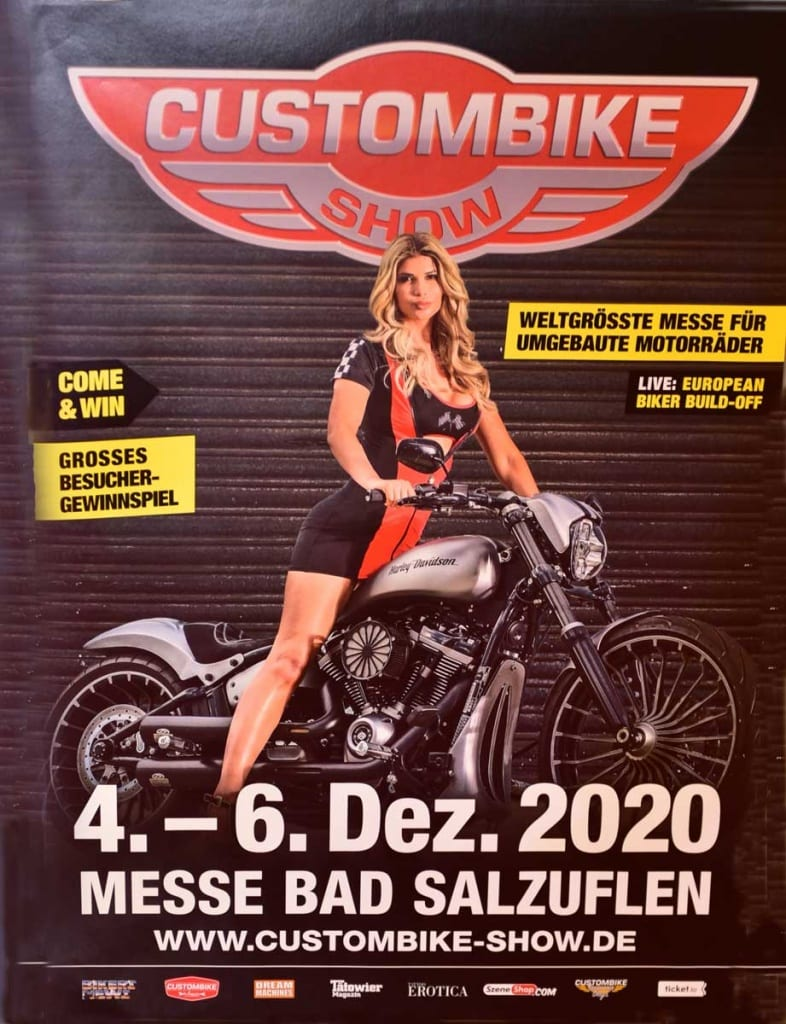 Plakat Custombike-Show 2020