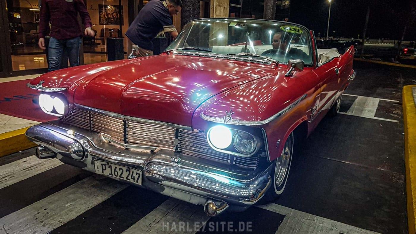 Das coole US Cabrio werden wir später noch einmal wiedersehen werden