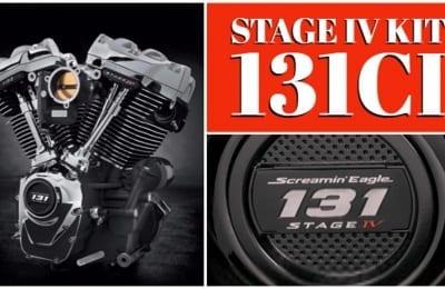 131ci Screamin Eagle Milwaukee-Eight Stage IV Kit