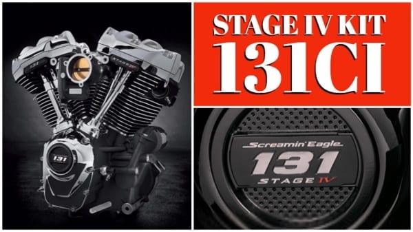 Harley-Davidson Milwaukee-Eight 131ci Stage IV KIT