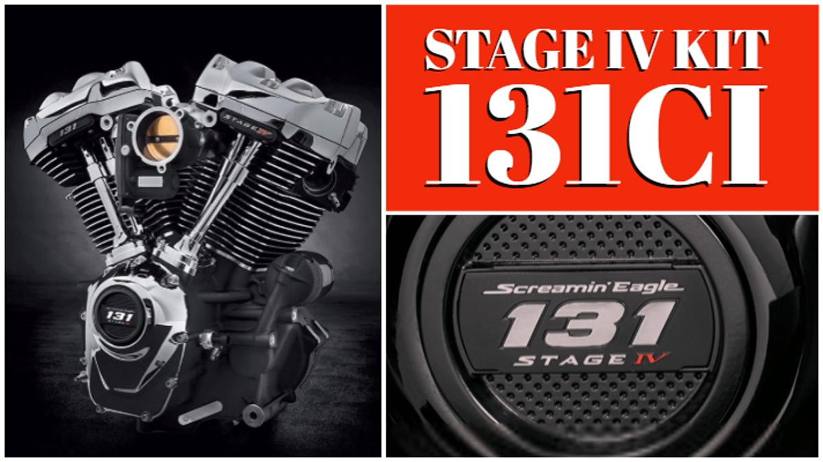 131ci Screamin Eagle Milwaukee-Eight Stage IV Kit