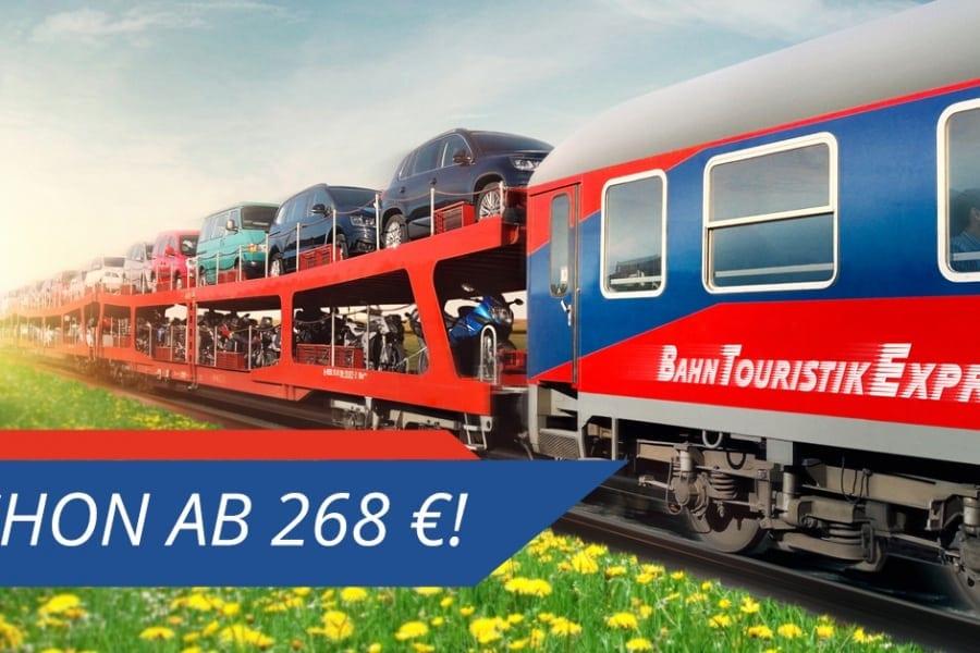 BTE AutoReiseZug Hamburg – Lörrach
