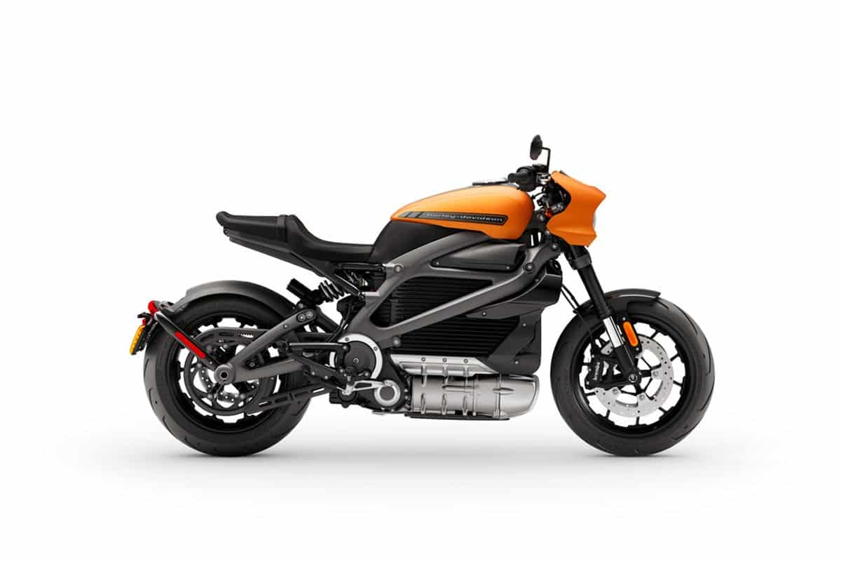 LIVEWIRE Harley-Davidson Reifenfreigabe
