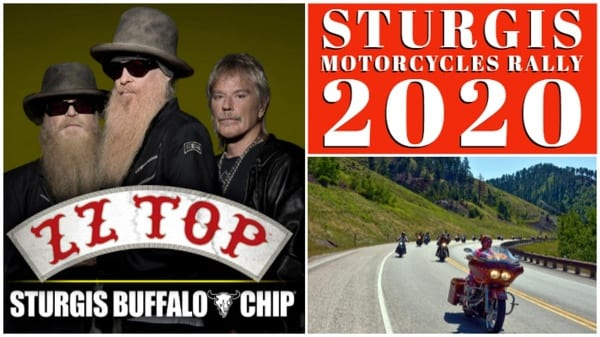 ZZ TOP Sturgis Buffalo Chip
