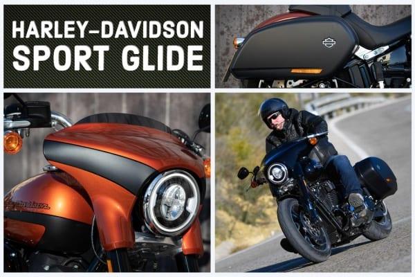 2020 Harley-Davidson Sport Glide Collage