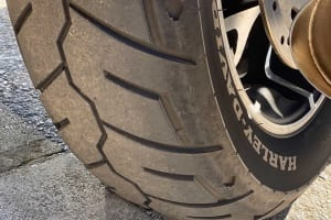 Michelin Scorcher 31 auf der Sport Glide