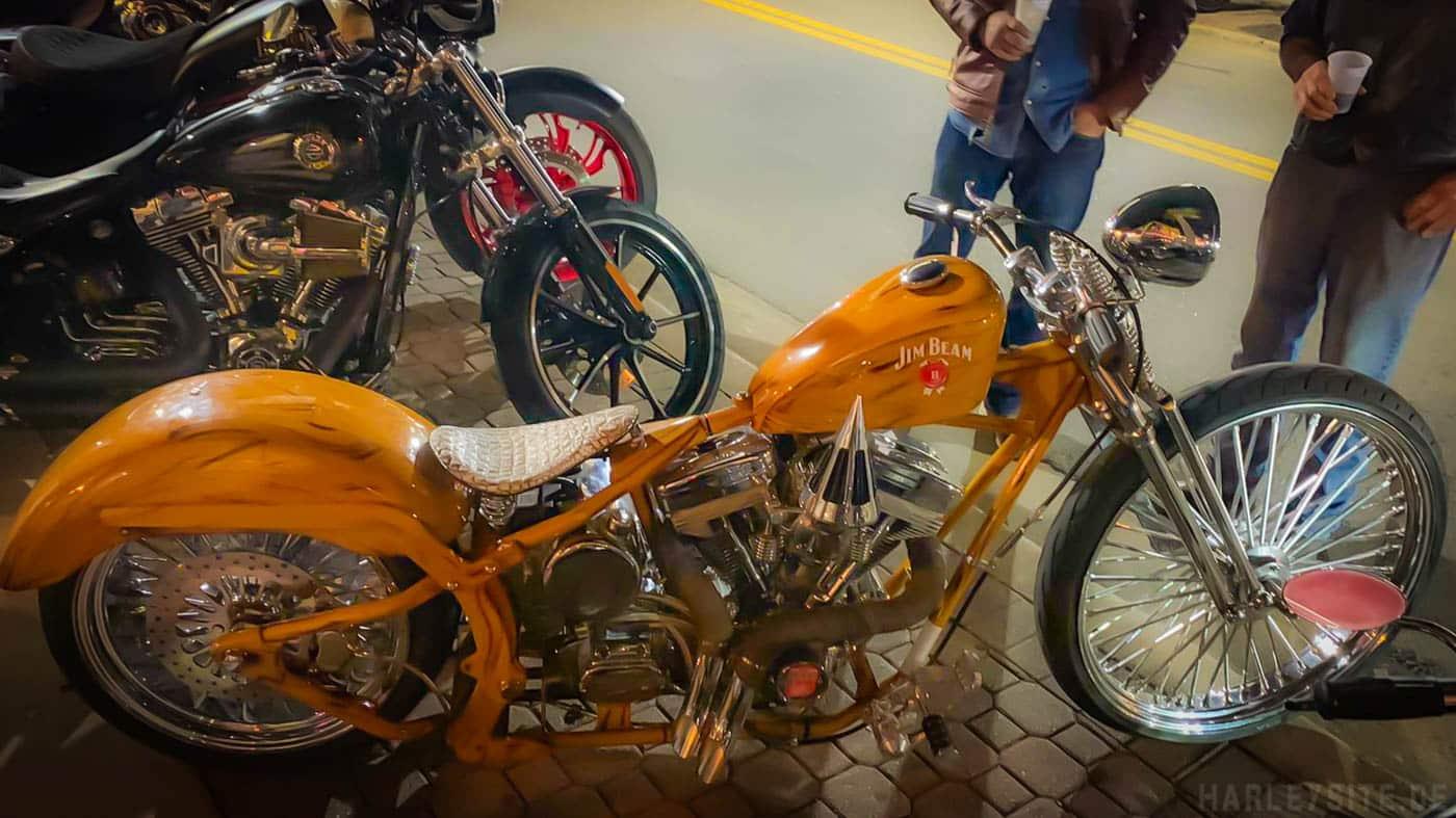 Custombike auf der Daytona Bike Week 2020