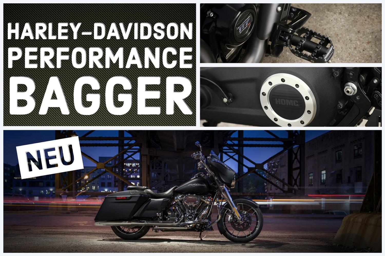HARLEY-DAVIDSON PERFORMANCE BAGGER