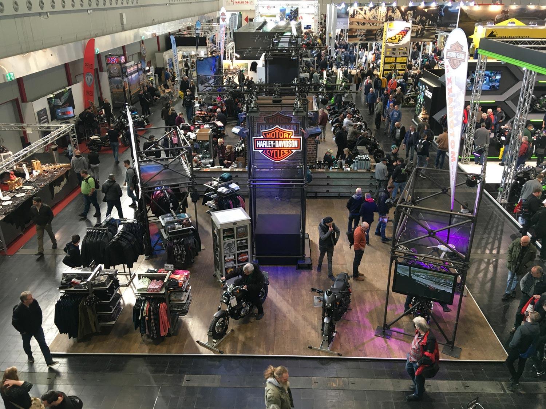 """Harley-Davidson auf der Messe """"Motorräder 2020"""" in Dortmund"""
