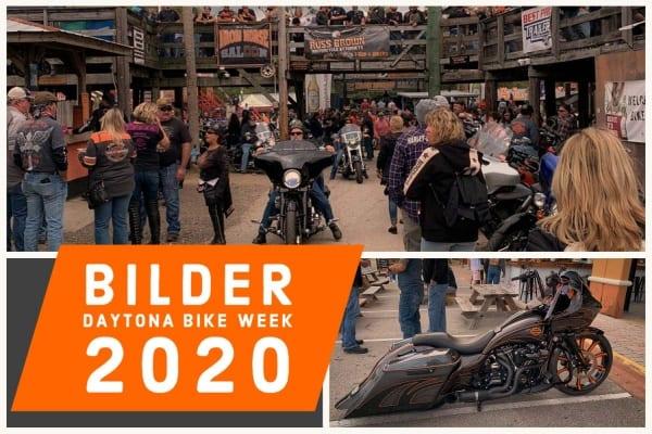 Bilder von der Daytona Bike Week 2020