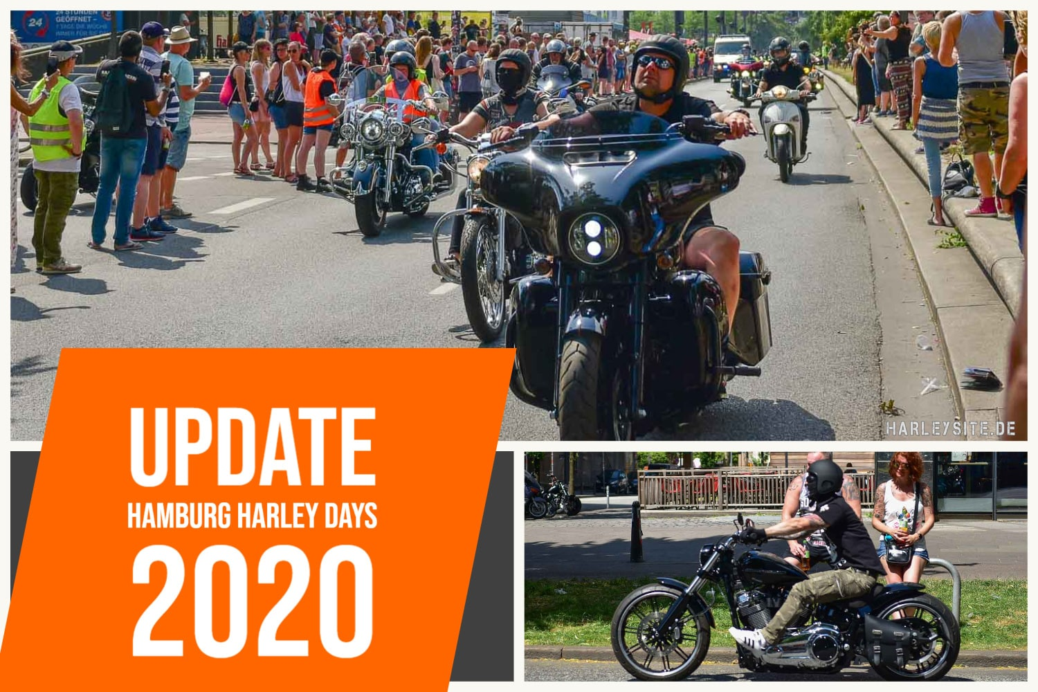 CORONA UPDATE - HAMBURG HARLEY DAYS