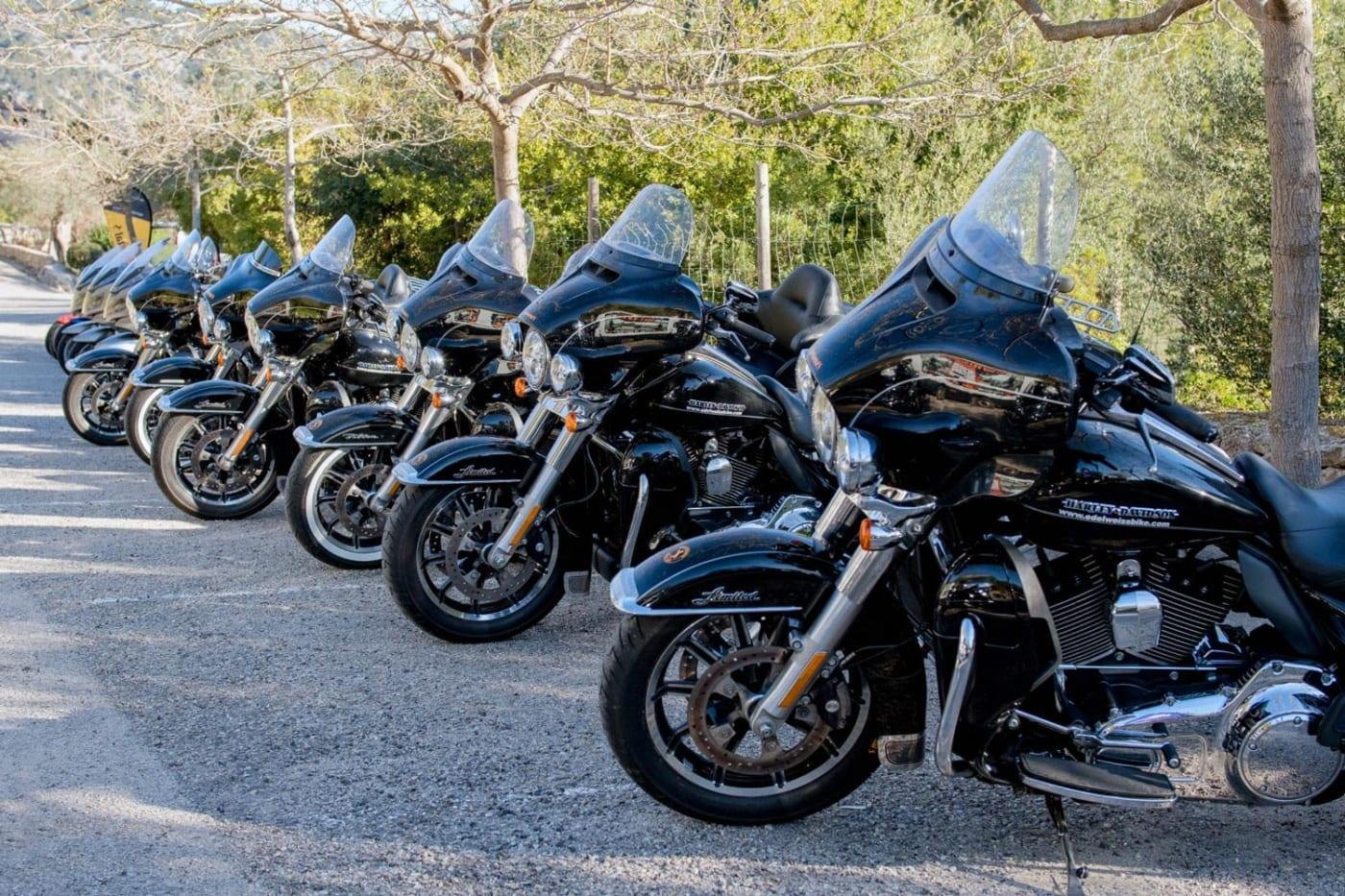 Continental und Harley-Davidson E-Glide
