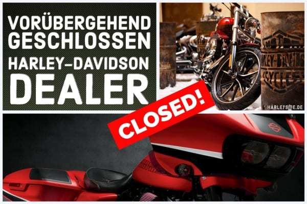 Corona-aktuell | Harley-Davidson Dealer Closed