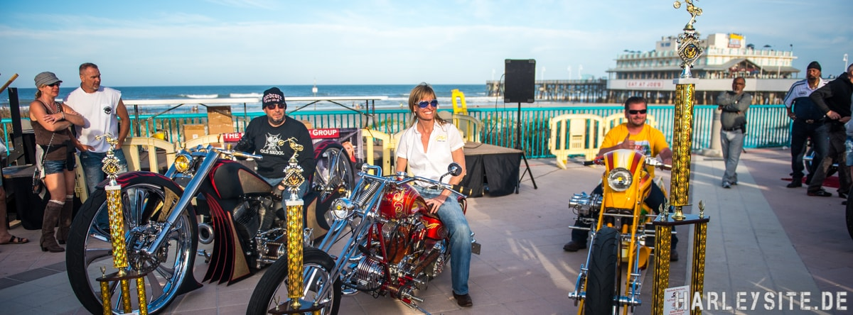 Daytona Bike Week Boardwalk 2016
