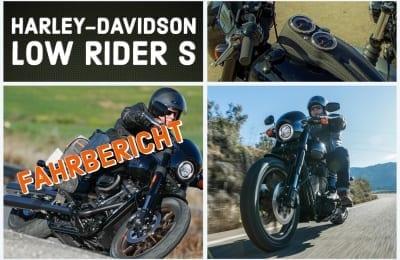 TESTBERICHT HARLEY-DAVIDSON LOW RIDER S 2020