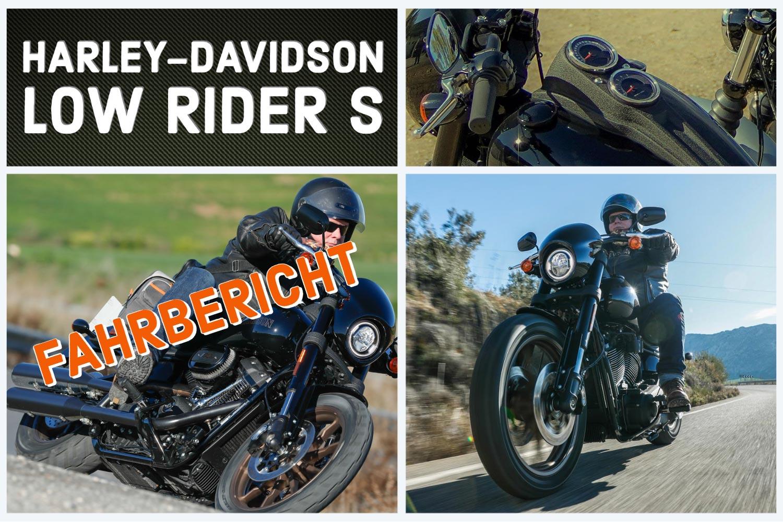 Fahrbericht Low Rider S 2020