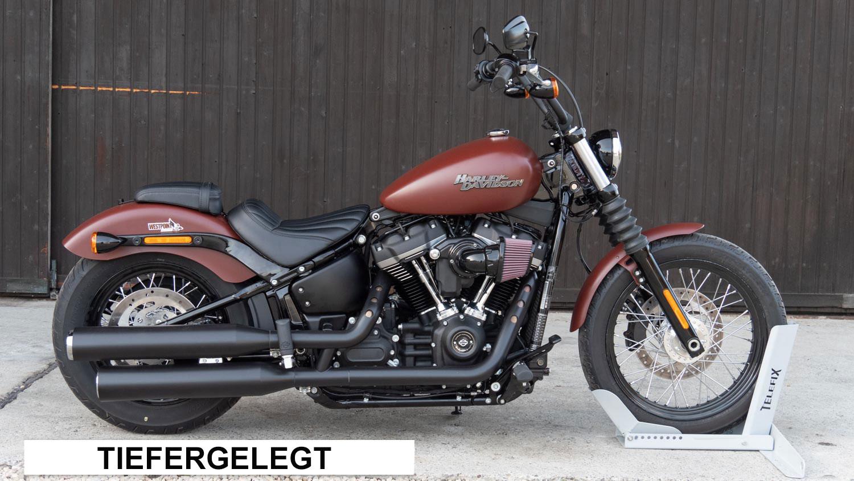 Tiefergelegt - Harley-Davidson Tieferlegung von Müller Motorcycles