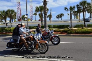 Daytona Bike Week Harley on the Road