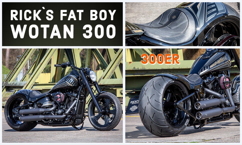 WOTAN - Rick´s 300er Fat Boy Custom