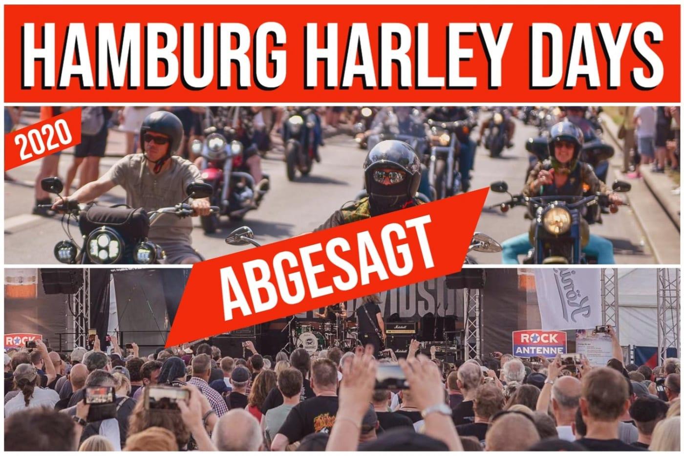 ABGESAGT Hamburg Harley Days Event 2020