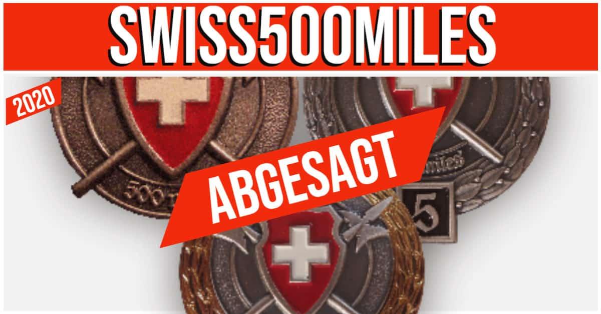 ABGESAGT -SWISS500MILES