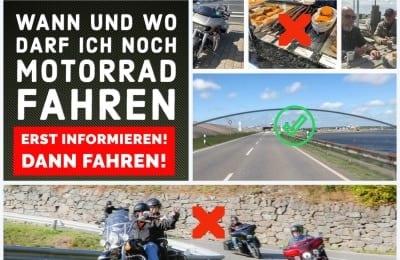 CORONAVIRUS AKTUELL – DARF ICH NOCH MOTORRAD FAHREN?
