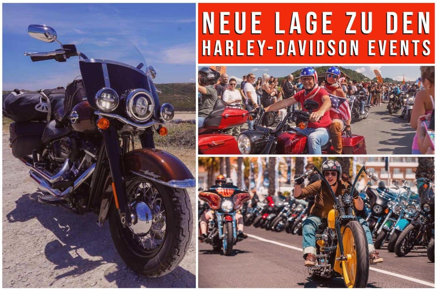 CORONA UPDATE - Harley-Davidson Events