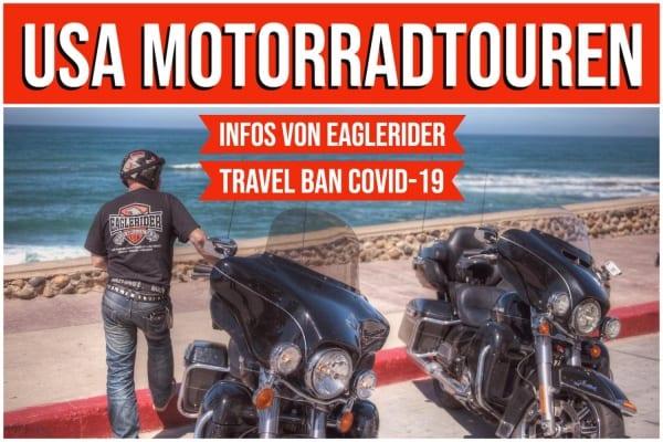 EAGLERIDER Motorrad Tour durch den Westen der USA