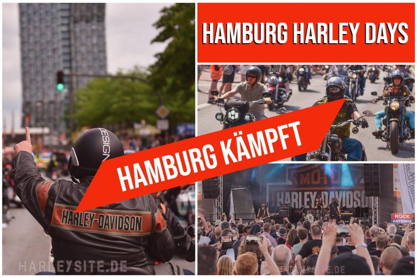HAMBURG KÄMPFT! Hamburg Harley Days 2020