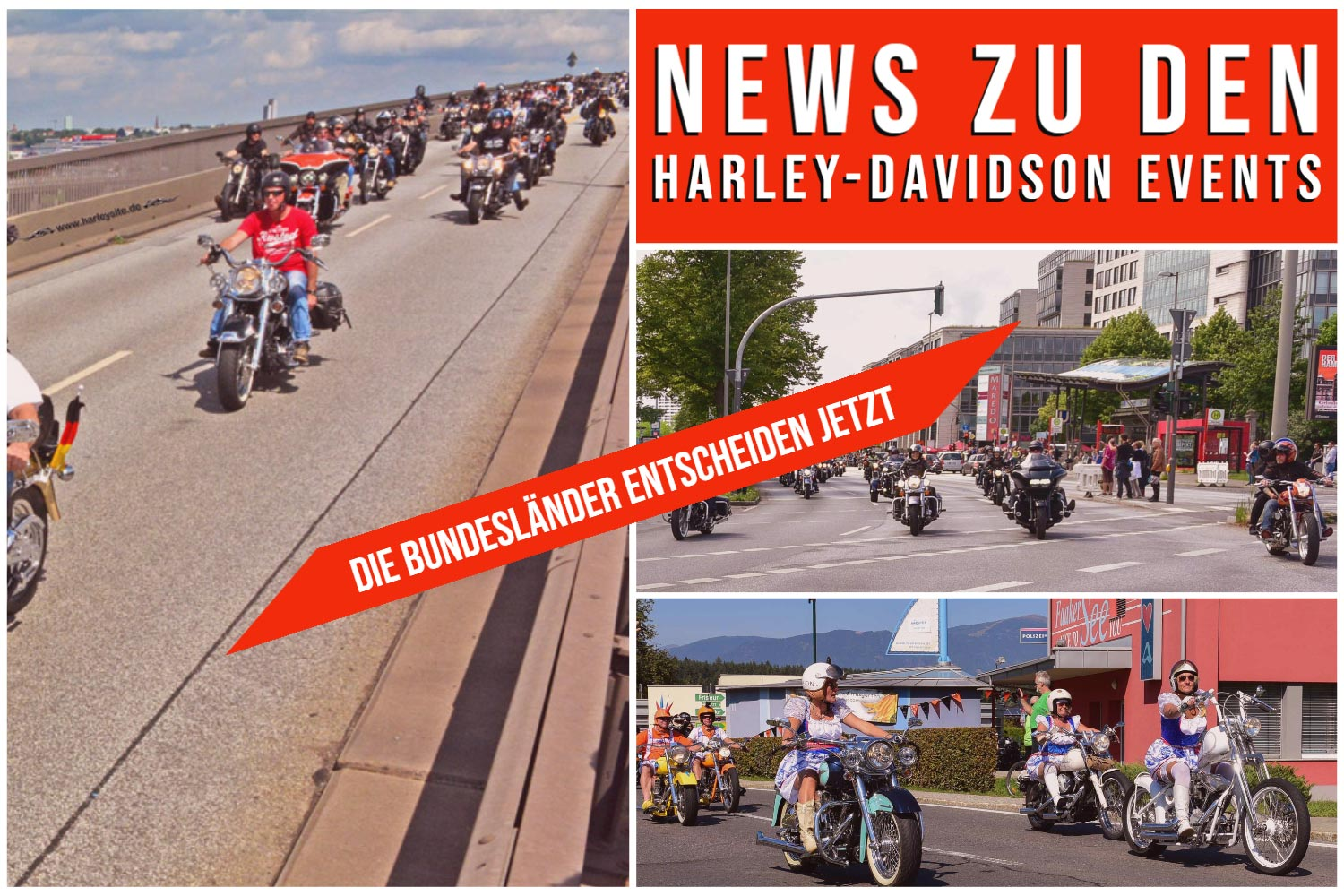 Harley-Davidson Events 2020
