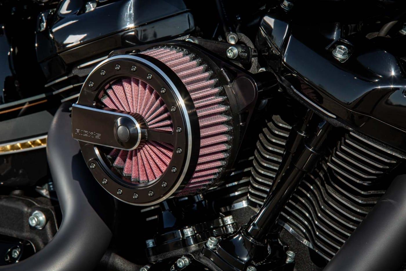 114cui Milwaukee-Eight Motor gemappt
