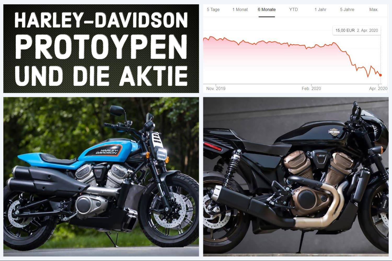 Harley-Davidson Prototypen 2021 und die H-D Aktie