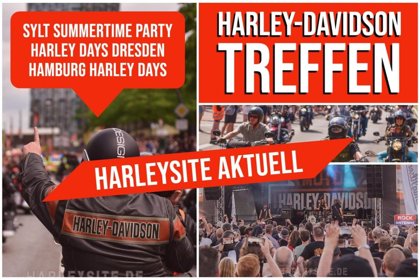 Harley-Davidson Treffen Aktuell