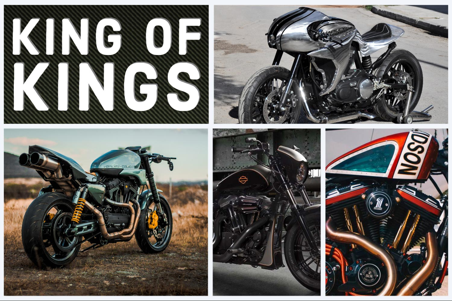 KING OF KINGS 2020 Battle auf Sportster Basis