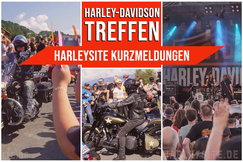 Kurzmeldungen zu Harley-Davidson Treeffen