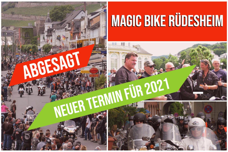 ABGESAGT - NEUER TERMIN - Magic Bike Ruedesheim 2021