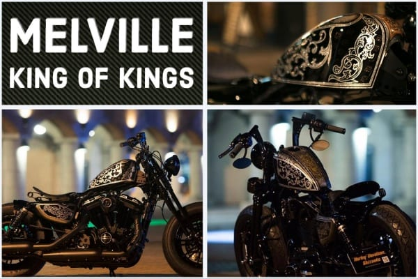 Melville Harley-Davidson Sportster Forty-Eight Custom - Shizuoka