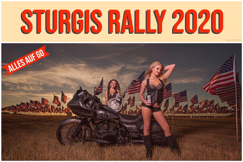 STURGIS RALLY BUFFALO CHIP 2020 STEHT AUF GO