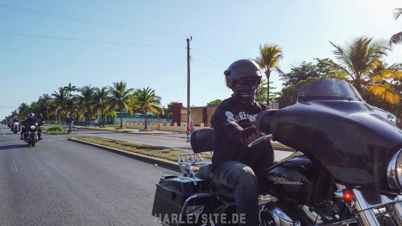 Mit der Street Glide auf Kuba unterwegs