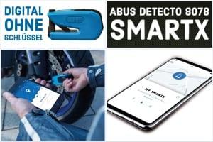 ABUS Bremsscheibenschloss GRANIT Detecto 8078 SmartX