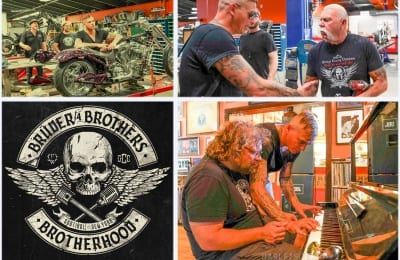 Brüder4Brothers – Orange County Choppers – am 5. August erscheint ihr Album!