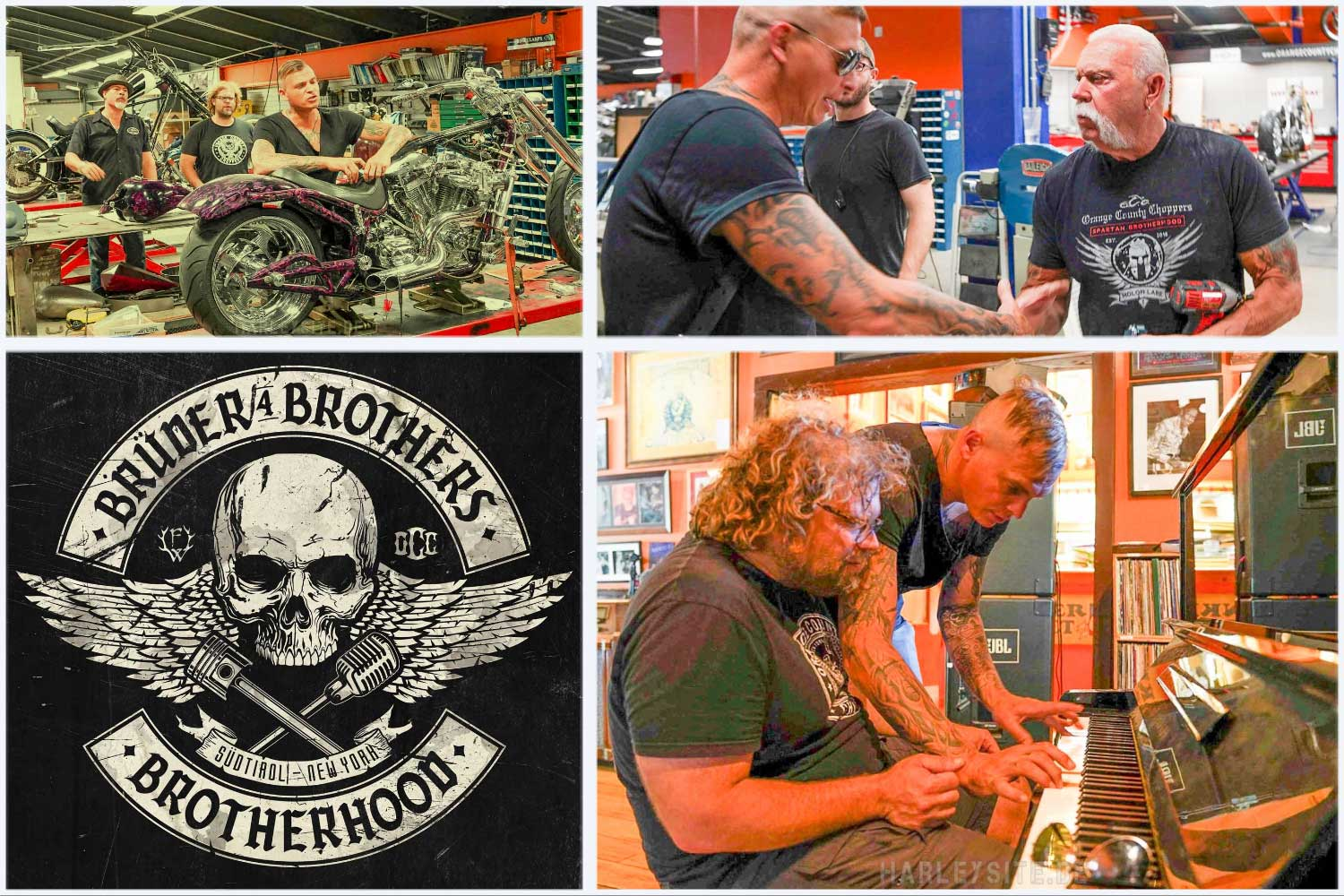 Brüder4Brothers – Orange County Choppers – am 7. August erscheint ihr Album!