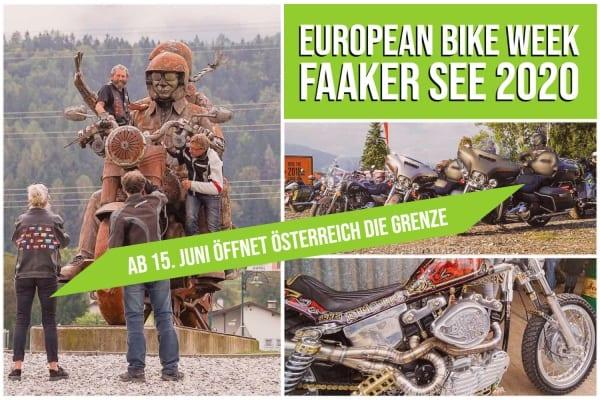 EUROPEAN BIKE WEEK ÖSTERREICH GRENZÖFFNUNG