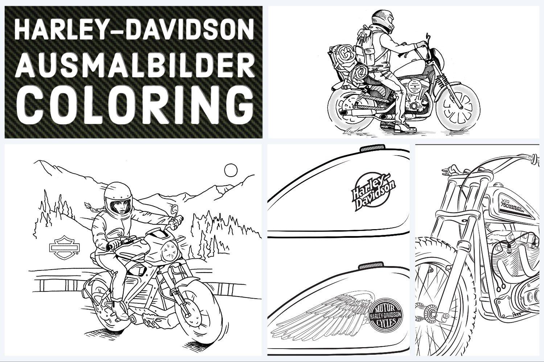 HARLEY-DAVIDSON MALVORLAGEN
