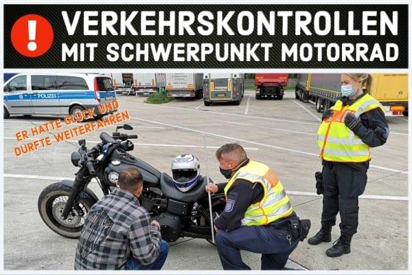 HDK Berlin - Pfingsten Motorradkontrollen