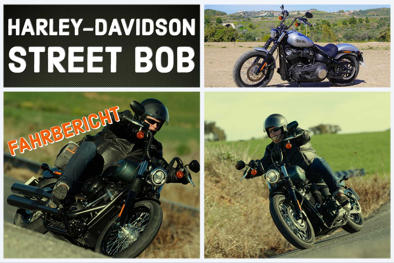 Test - Harley-Davidson Street Bob 2020