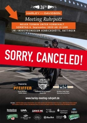 NEUER TERMIN | 26th HARLEY MEETING RUHRPOTT 2021 1
