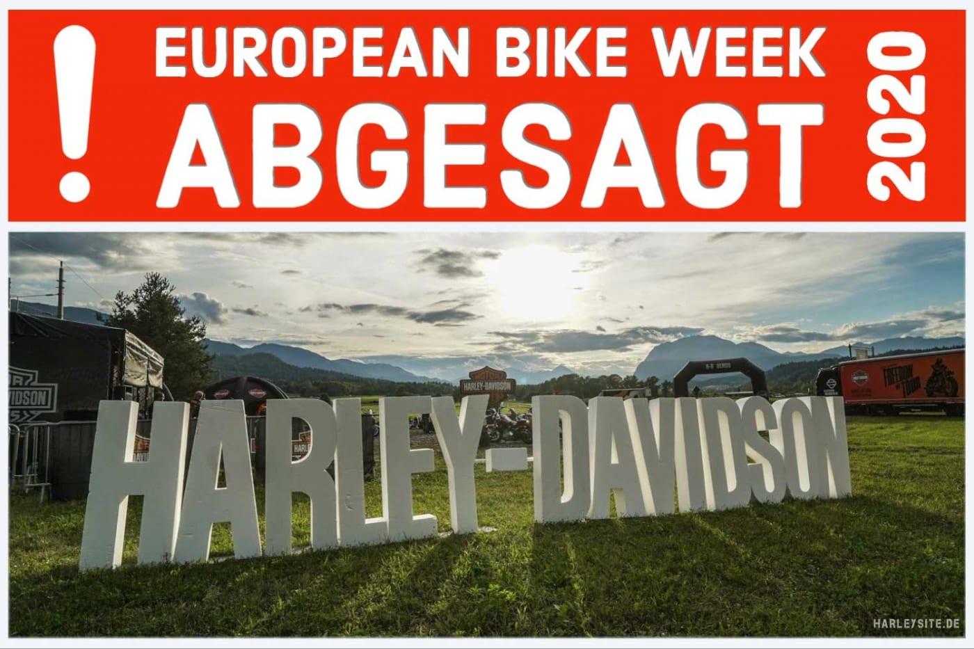 ABGESAGT - Die European Bike Week 2020
