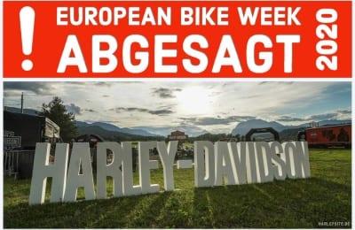 ABGESAGT- EUROPEAN BIKE WEEK 2020